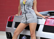 ashley models with a lamborghini gallardo and bmw m3 sport pack-474616