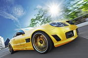 mercedes-benz sl 55 amg liquid gold by fostla.de-476700