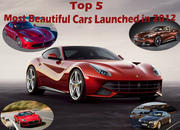 -top 5 most beautiful cars launched in 2012