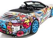 porsche 911 cabriolet art car by romero britto-485713
