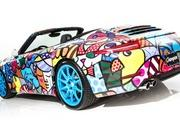 porsche 911 cabriolet art car by romero britto-485714