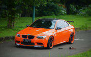 2013-bmw m3 halloween orange by antelope ban