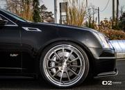 cadillac cts-v with d2forged wheels-486972