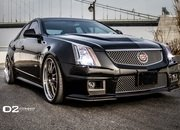cadillac cts-v with d2forged wheels-486973