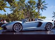 lamborghini ramping up 50th anniversary with aventador roadster launch in miami-490871