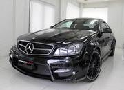 expression motorsport offers a black series look to the mercedes c63 amg coupe-492180