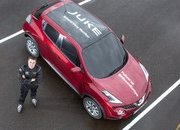 nissan juke sets world-first quot blind quot j-turn record - DOC697754