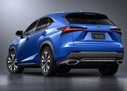 the lexus nx stunts on the competition in shanghai with a new look - DOC714140